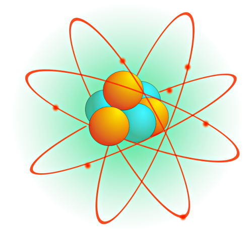 Clip Art Atom Clipart atom clipart kid define an atomic particle is simply they consist of