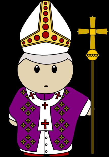 Papal hat clipart outline - youssoupha image 2013 blue