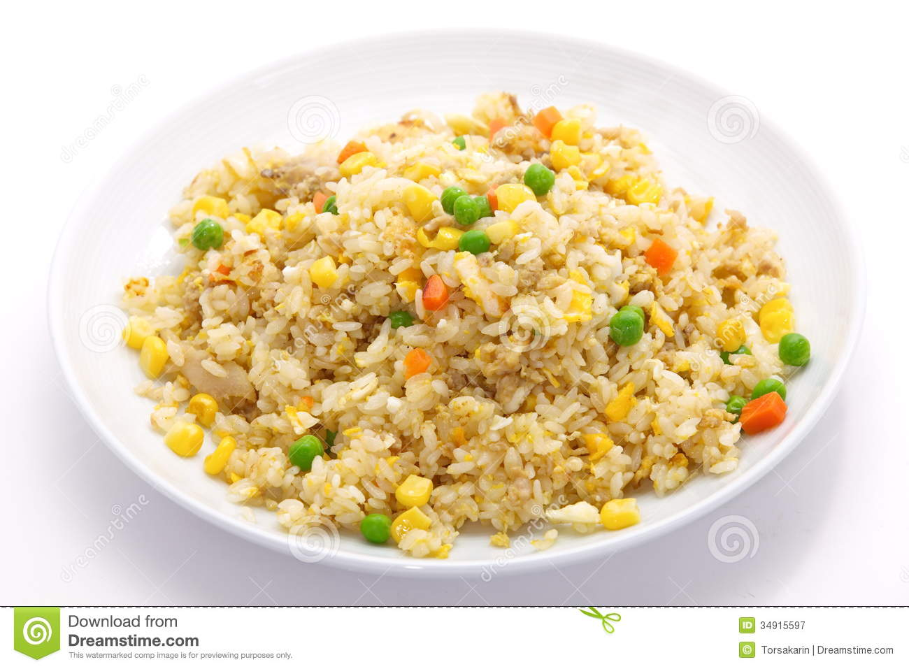 Fried Rice Royalty Free Stock Photography Image 34915597 # ...