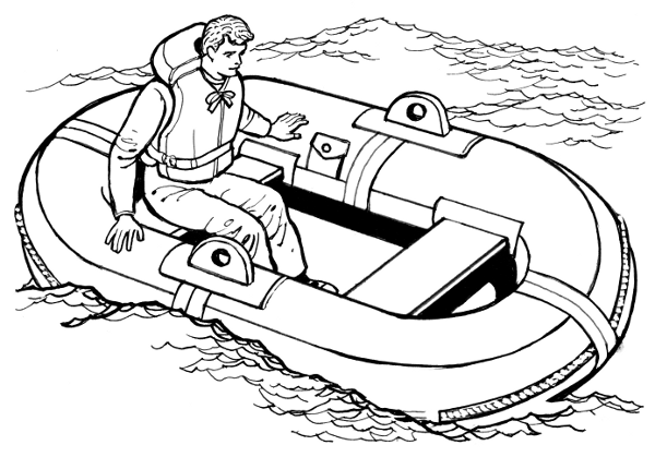 Life Raft   Http   Www Wpclipart Com Transportation Boat Assorted Life