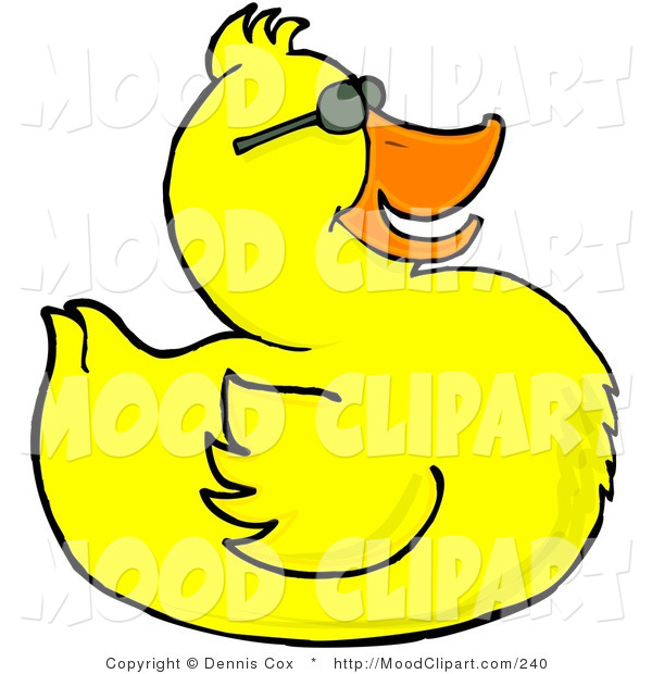 Mean Duck Clip Art Mood Of A Happy Yellow Duck