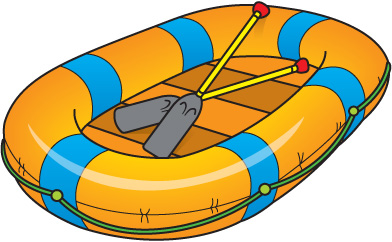 Rafting Clipart Girl Rafting Clipart