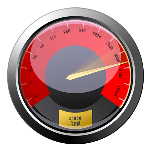 Red Download Speed Gauge Icon Png Clipart Image   Iconbug Com