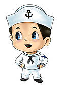 Sailor Man Stock Illustrations   Gograph