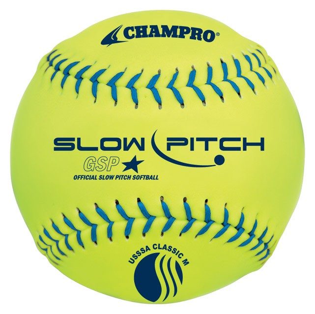 Slow pitch softball pitcher