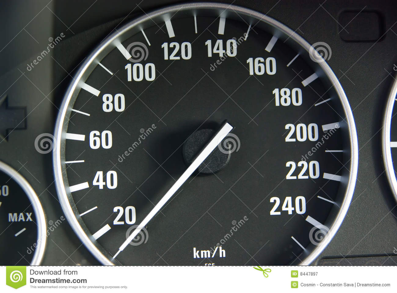 Speed Gauge Royalty Free Stock Photography   Image  8447897