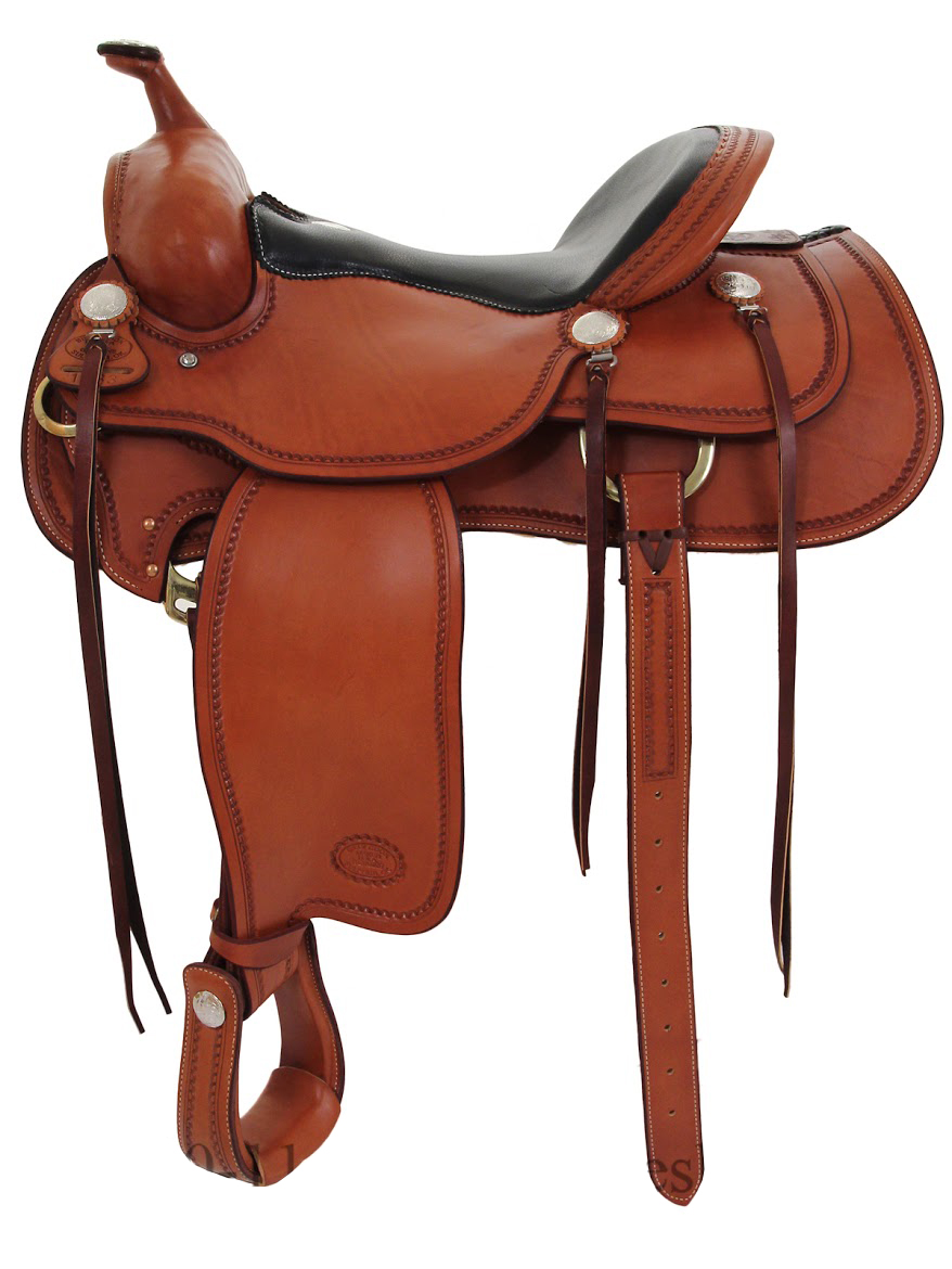 Western Saddle For The Trails By Billy Cook 16inch Or 15 5inch 10 1783