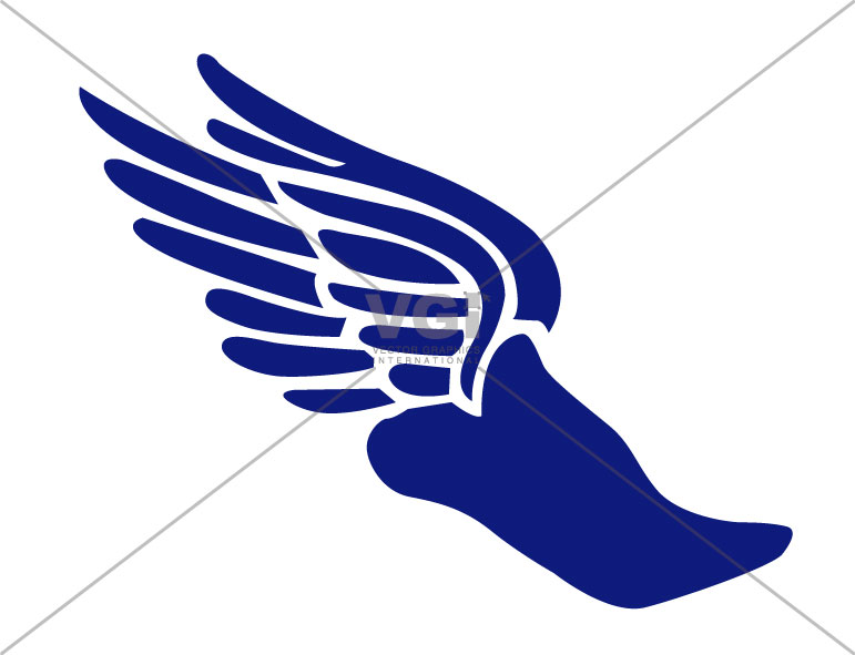 track shoe clipart clipart suggest goodyear winged foot logo winged foot login