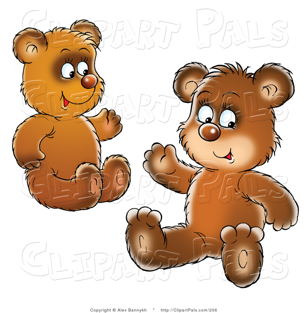 School Bear Cub Clipart - Clipart Kid