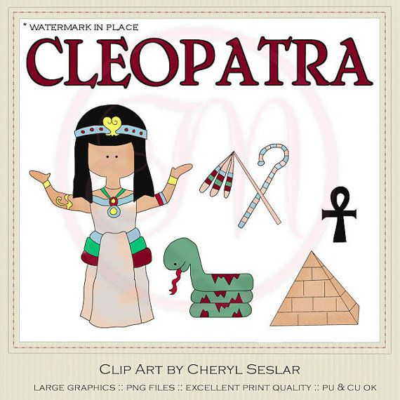 Cleopatra Clip Art By Cheryl Seslar By Marlodeedesigns On Etsy  1 35