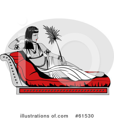 Cleopatra Clipart  61530   Illustration By R Formidable