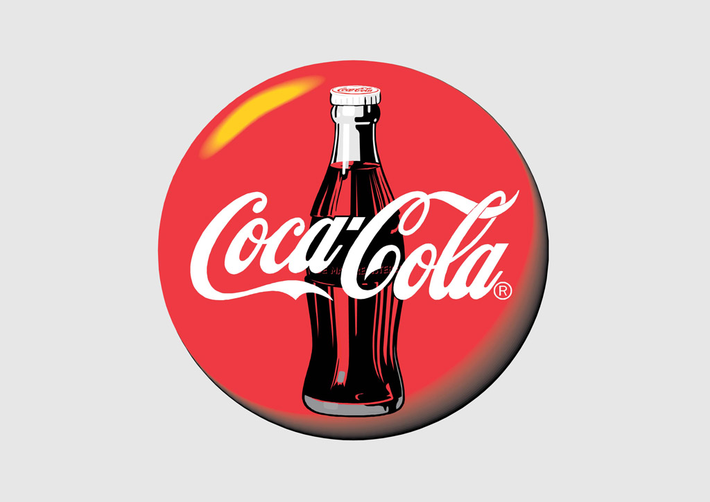 Coca Cola Disc Logo