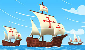 Free Columbus Day Clipart   Gifs And Graphics