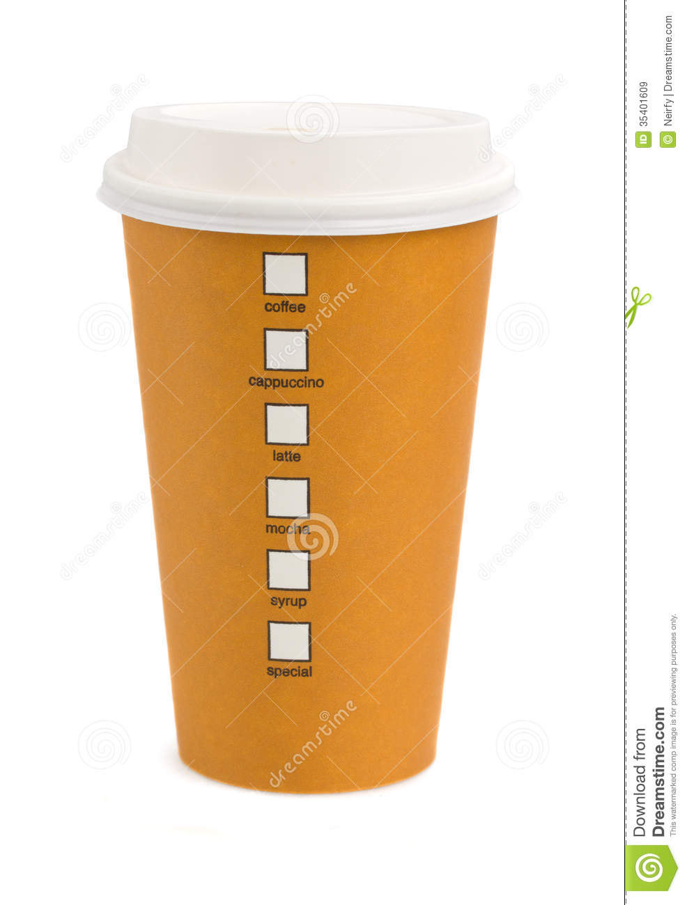 Take Away Coffee Royalty Free Stock Images   Image  35401609