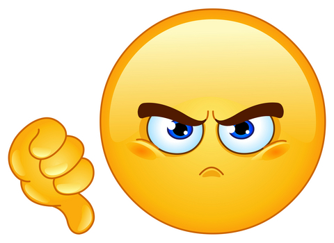 Disappointed Face Clipart Disappointed Em...