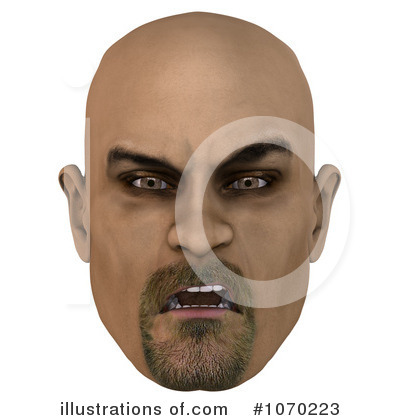 Clipart Bald Man