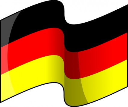 German Flag Clipart - Clipart Kid