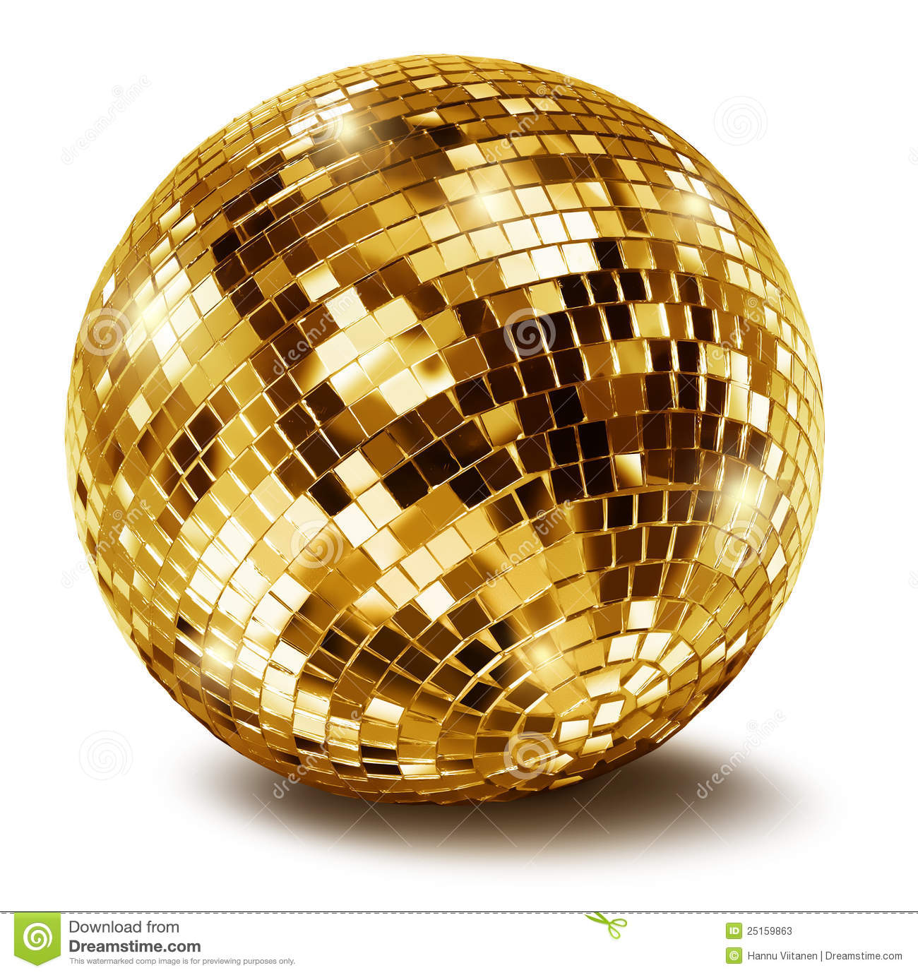 Gold Ball Clipart - Clipart Suggest