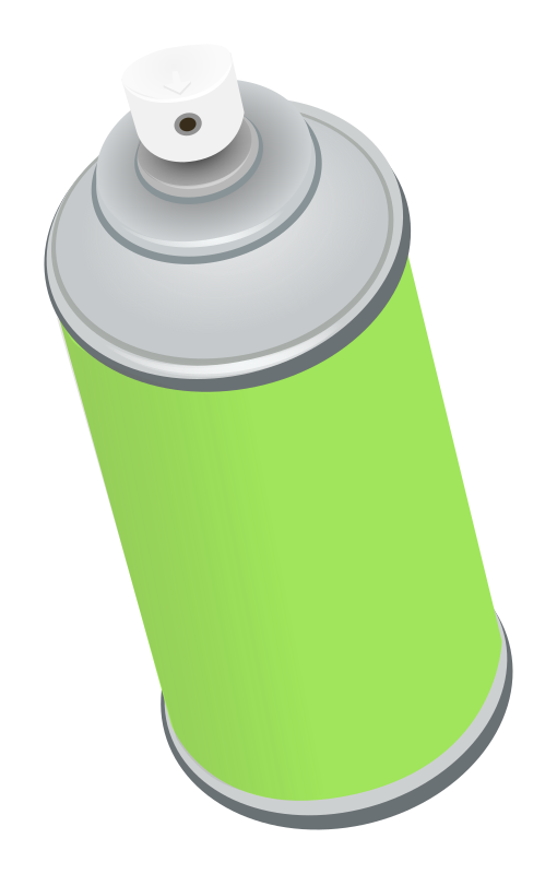 Spray Can Clipart - Clipart Suggest