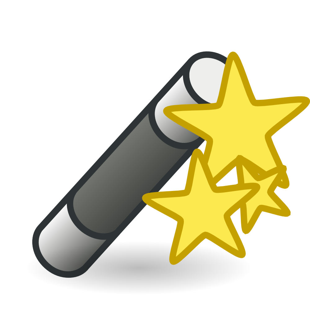 Star Wand With Stars Flag Clipart