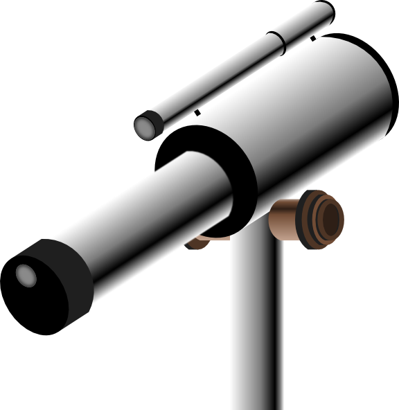 pirate telescope clipart - photo #15