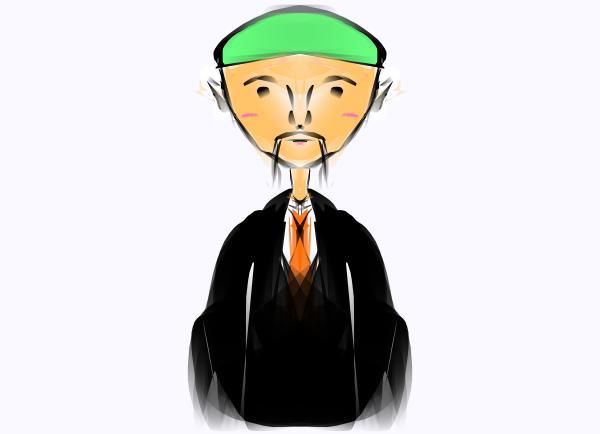 Asian Man Clipart - Clipart Kid