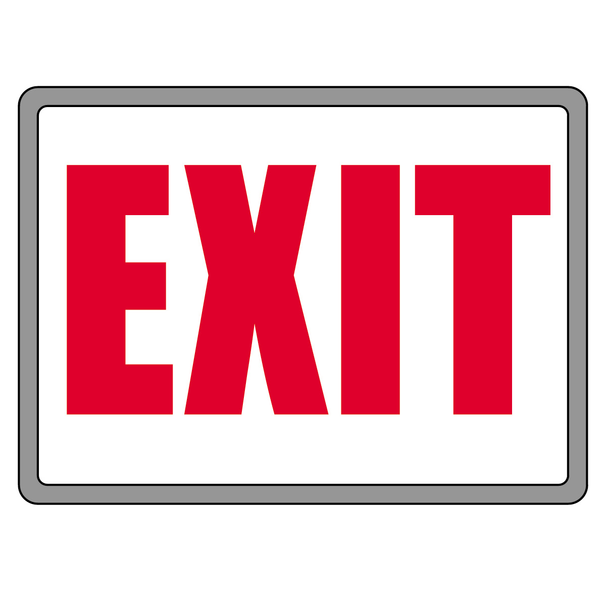 exit sign clipart clipart kid exit sign clipart clipart kid