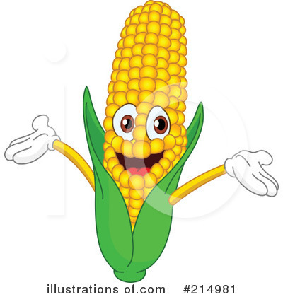 Corn Clipart  214981   Illustration By Yayayoyo