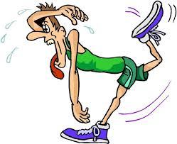 Exhausted Runner Clipart   Elmarie Porthouse