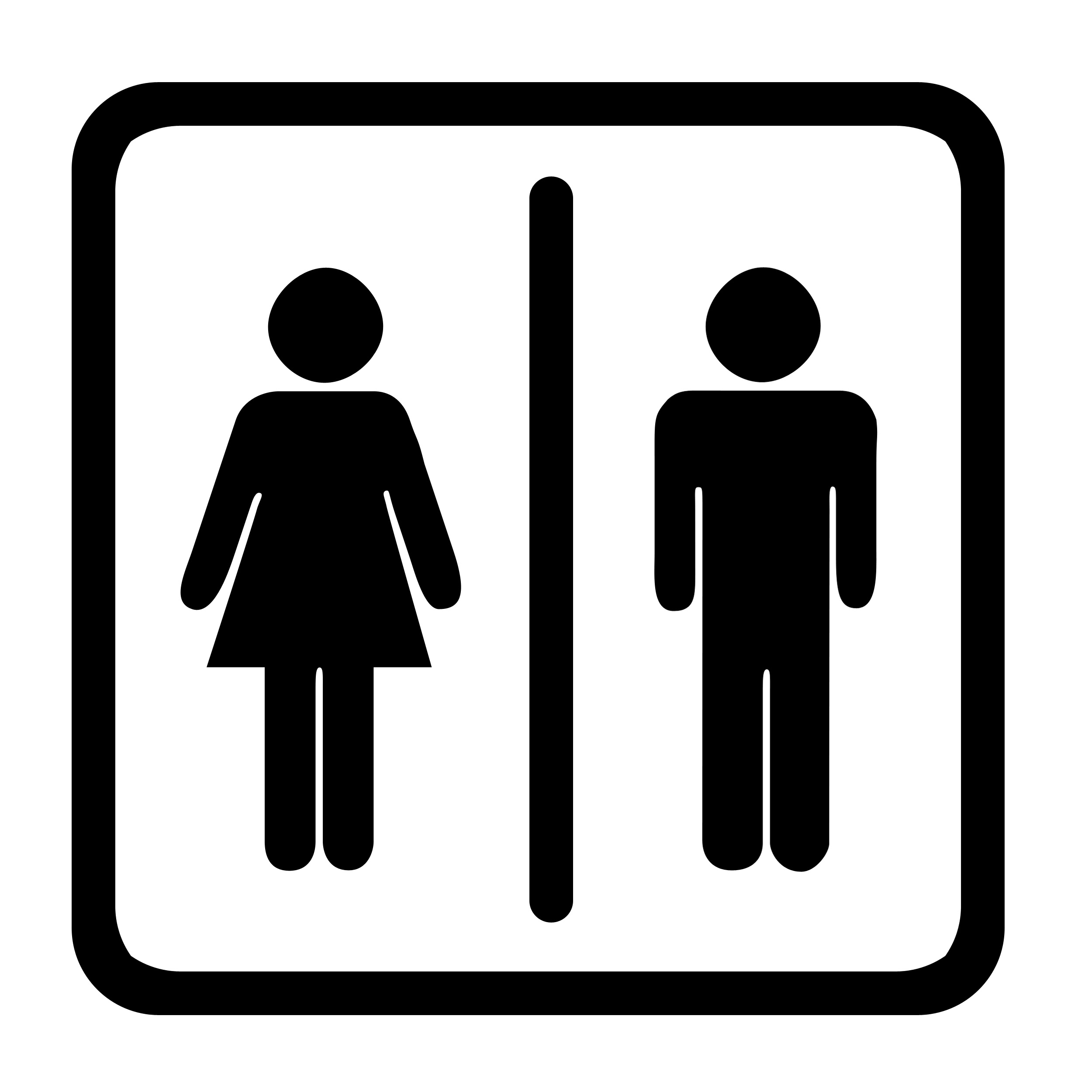 Toilet Signs Clipart - Clipart Kid