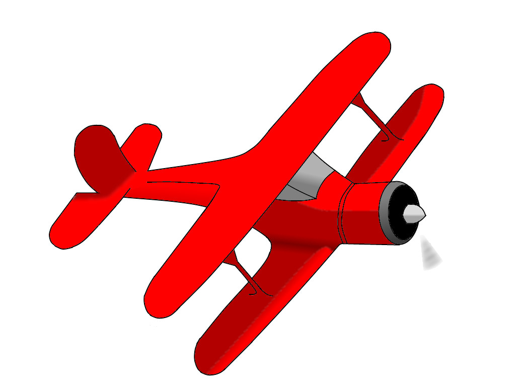 Toy Airplane Clipart - Clipart Kid