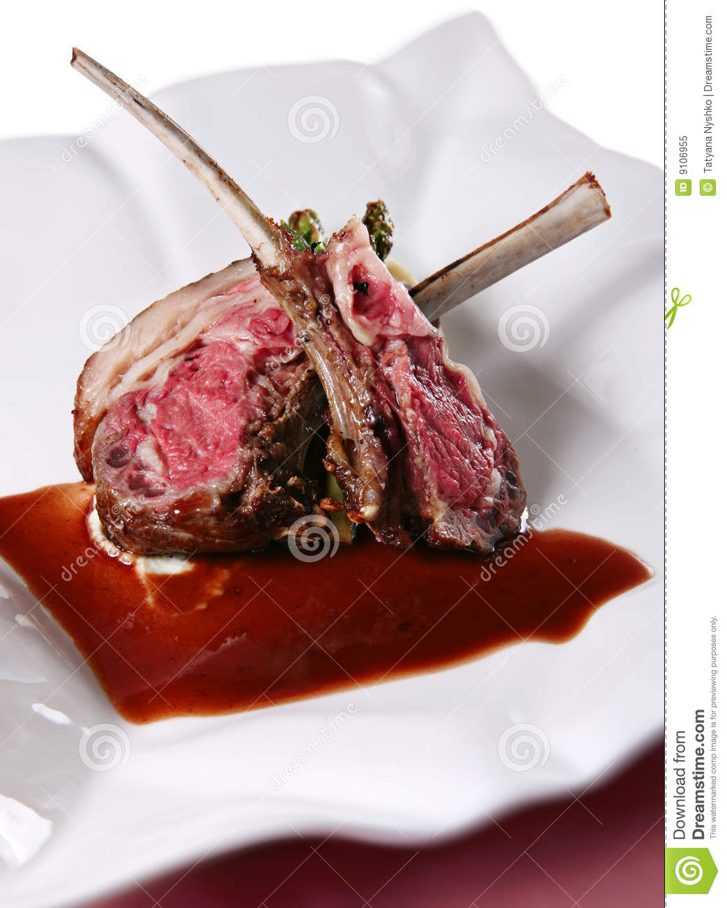 Lamb Meat Royalty Free Stock Photo   Image  9106955