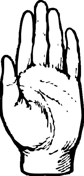 Left Hand Clipart - Clipart Kid