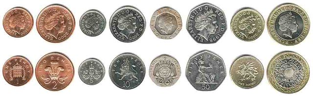 Britain Coins   British Money   English Coinage   Coins Of The Uk