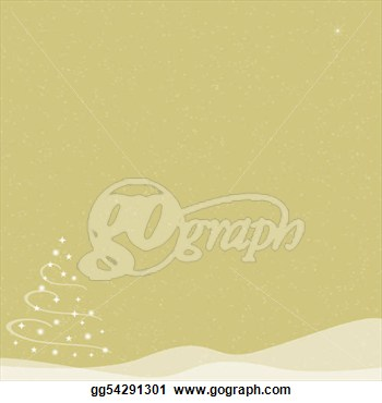 Christmas Tree   Falling Snow   Gold