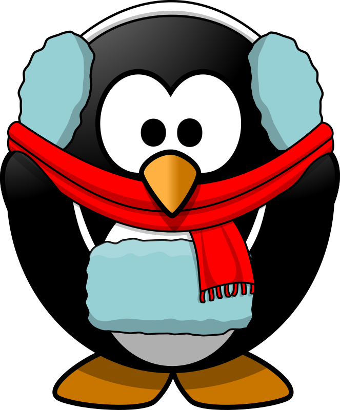 Clipart   Freezin  Penguin