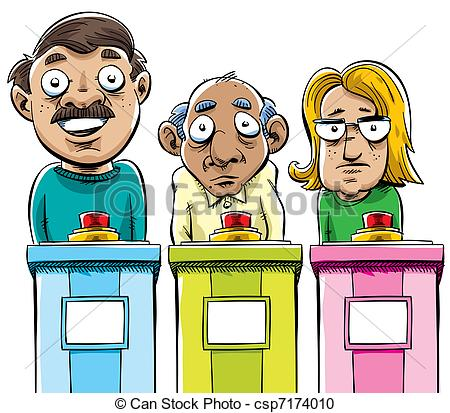 Game Show    Csp7174010   Search Clipart Illustration Drawings And