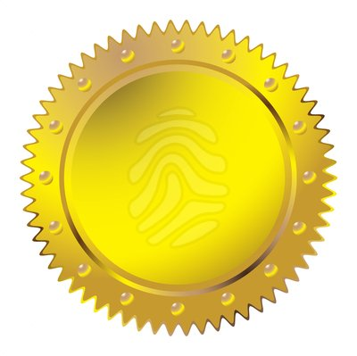 Gold Seal Clipart