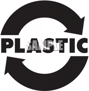 Recycle Plastic Clipart Sign For Recycling Plastic