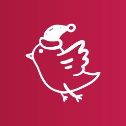 Snow Bird Icon   Christmas Clipart Iconset   Uiconstock