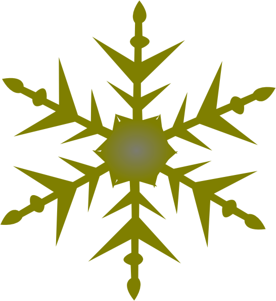 These Are Some Of Gold Snowflake Clip Art Vector Online Royalty Free