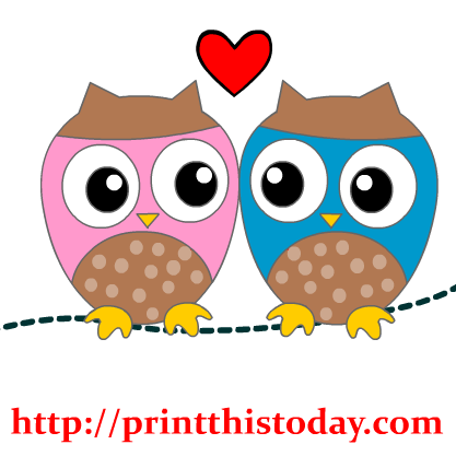 Heart Owl Clipart - Clipart Suggest