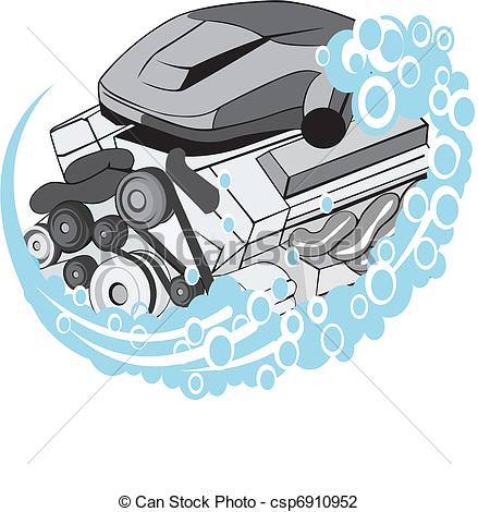 Car Motor Clipart  Royalty Free Illustrations Stock