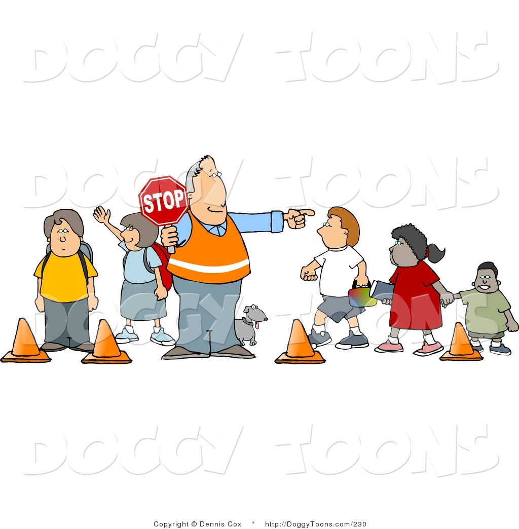 Child And Parent Crossing Road Sign Clip Art Vector Clip   Auto Design