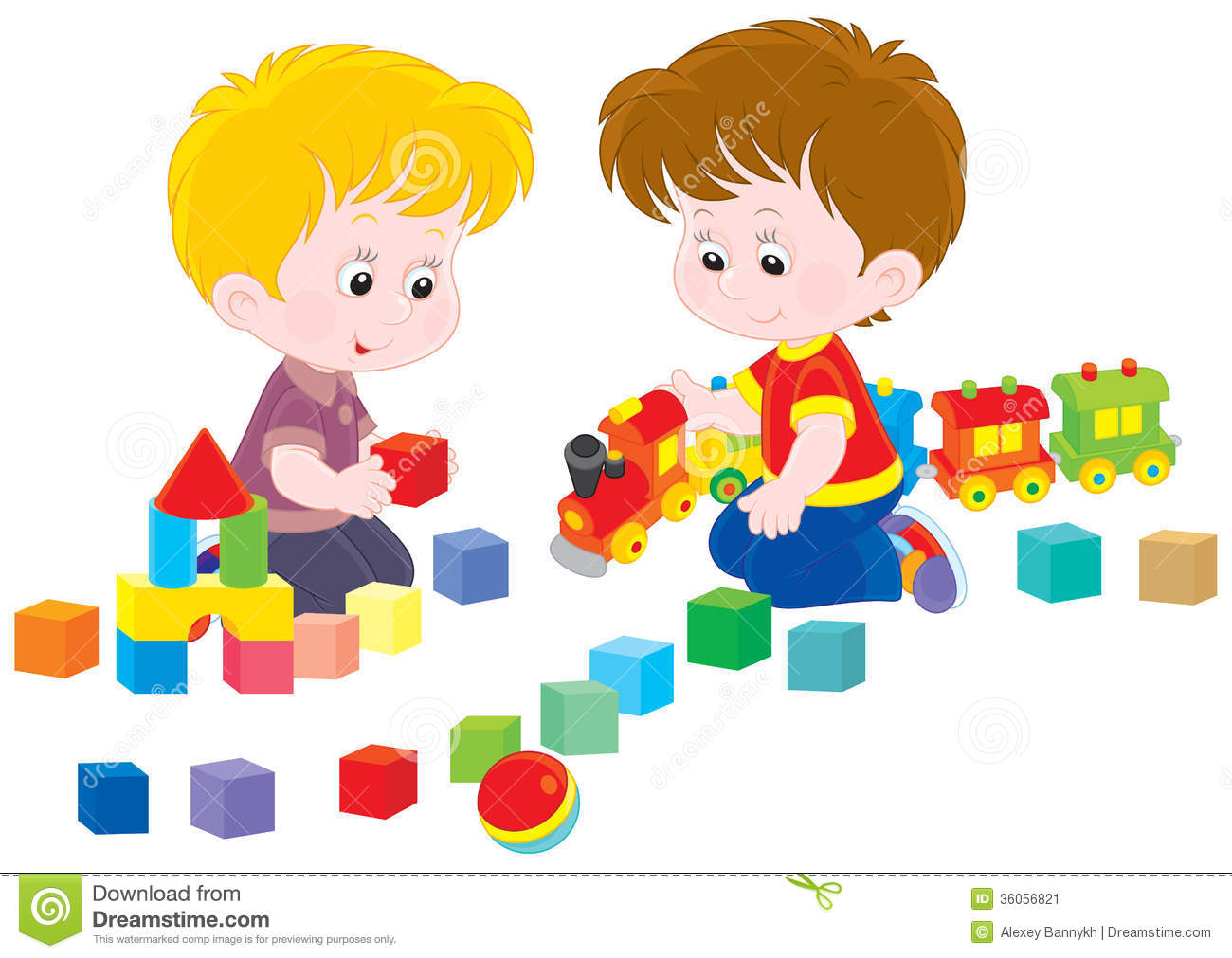 Children Playing Stock Image   Image  36056821