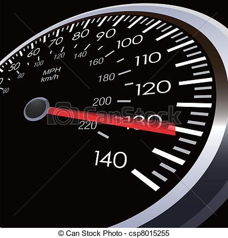 Clipart Vector Of Car Speed Meter   Eps 10 Csp8015255   Search Clip