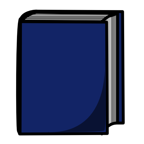 Free Clipart Of Blue Book Clipart Of A Big Blue Book