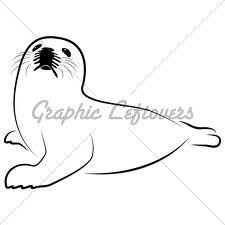 Harp Seal Clipart   Google Search   Inspiration   Pinterest