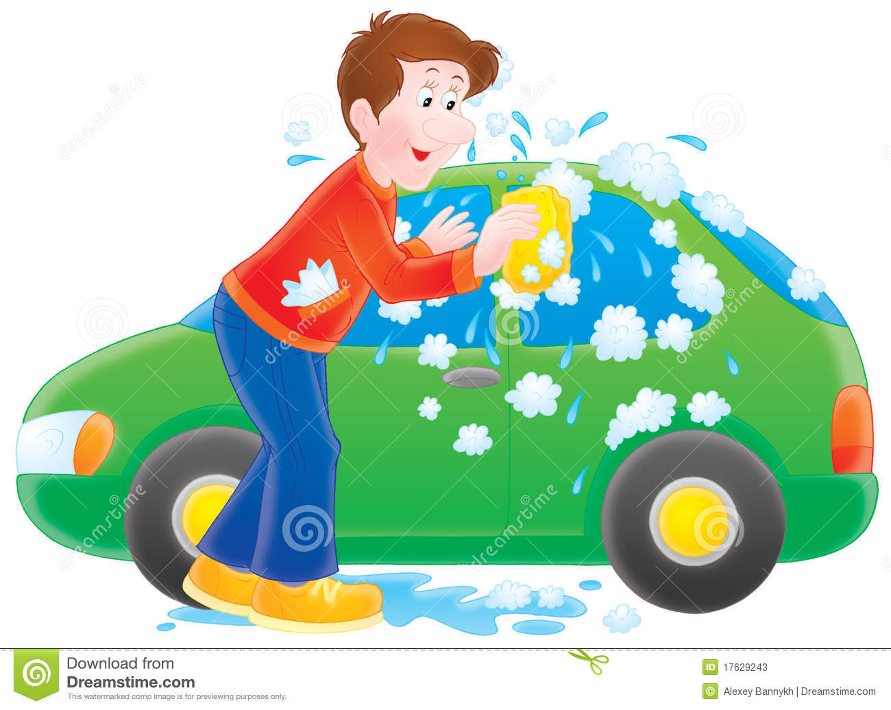 Cars Car Wash Cliparts on Uses Of Water For Kids Clipart