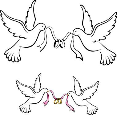 Clip Art Doves Clipart wedding doves clipart kid liten ida i storbyen bryllup
